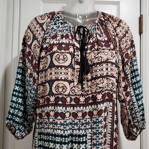 Anthropologie Dresses - Anthropologie Bohemian Peasant Dress Coverup